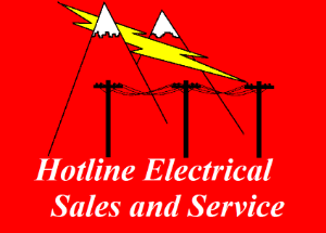 Hotline Electric Sales & Service Logo